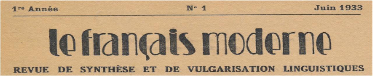 Moderne Le le français moderne en ligne